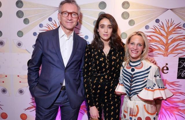 Geoffroy de la Bourdonnaye, Natacha Ramsay Levi and Tracy MargoliesSaks x Chloe party, Fall Winter 2018, New York Fashion Week, USA - 07 Feb 2018