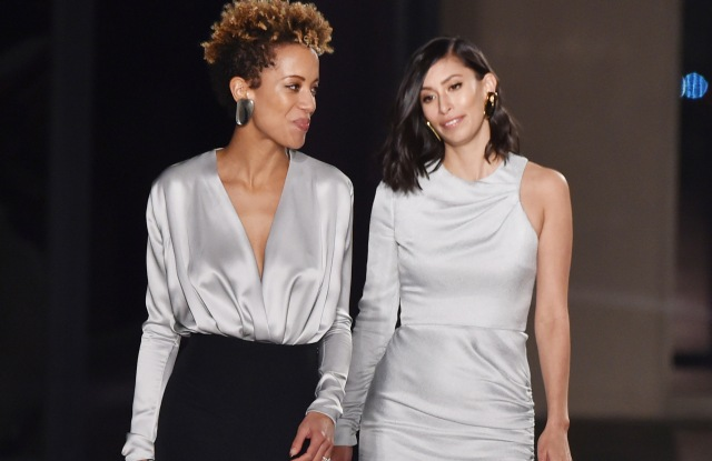 Michelle Ochs and Carly CushnieCushnie Et Ochs show, Runway, Fall Winter 2018, New York Fashion Week, USA - 09 Feb 2018