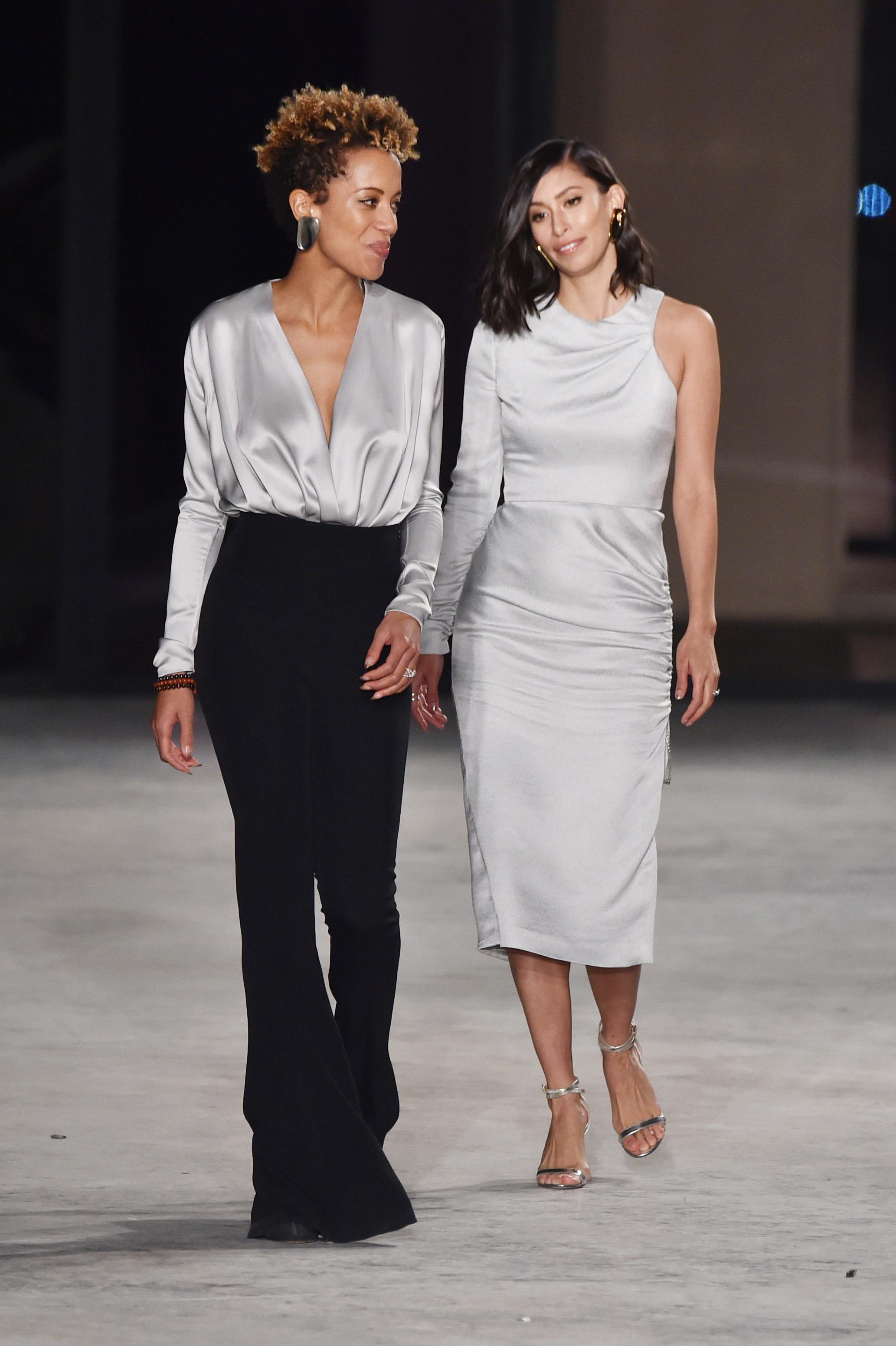 Michelle Ochs and Carly CushnieCushnie Et Ochs show, Runway, Fall Winter 2018, New York Fashion Week, USA - 09 Feb 2018