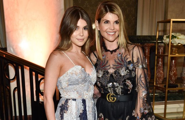Olivia Jade and Lori Loughlin The Women's Cancer Research Fund hosts an Unforgettable Evening, Inside, Los Angeles, USA - 27 Feb 2018