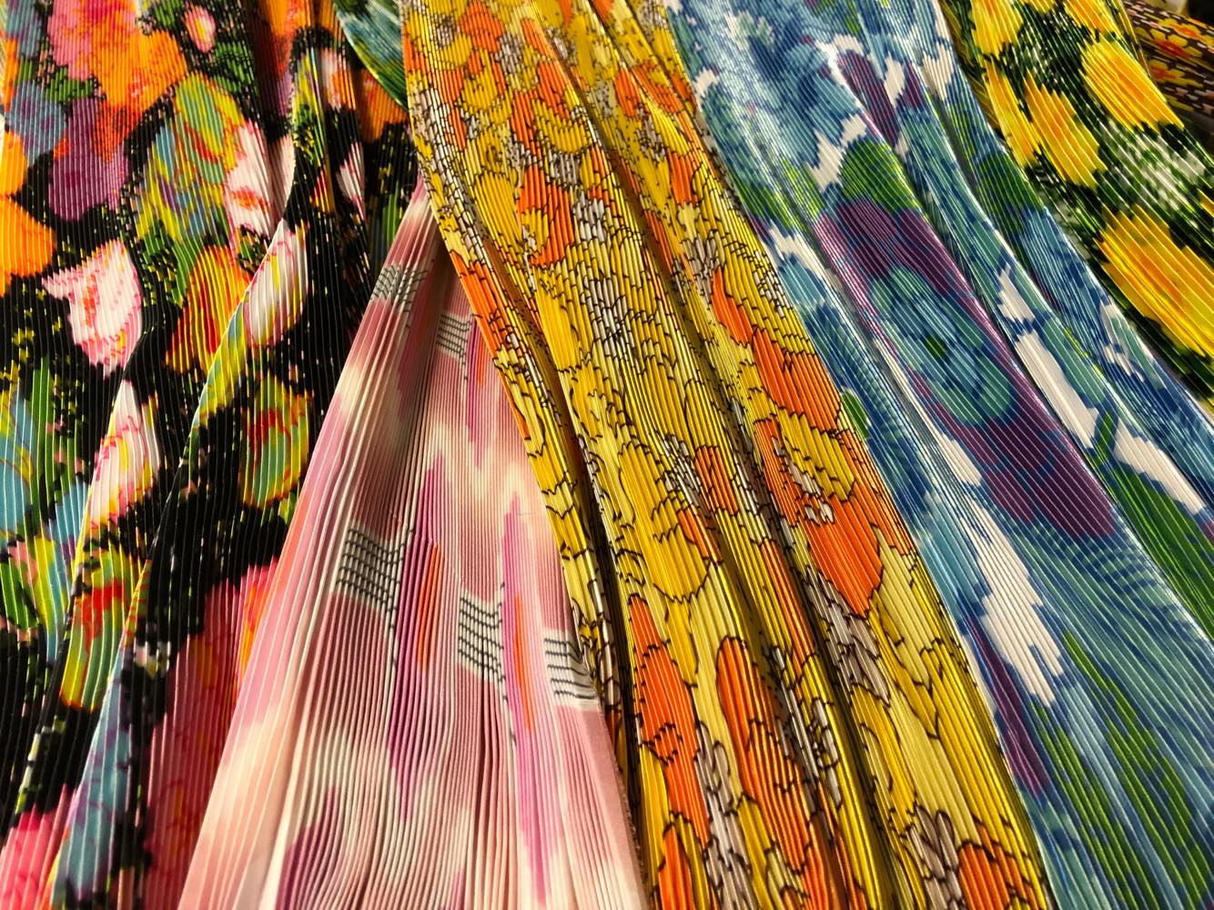 """""""This season I'm working with bolder prints, and incorporating a subversive edge throughout the collection."""" — Richard Quinn"""