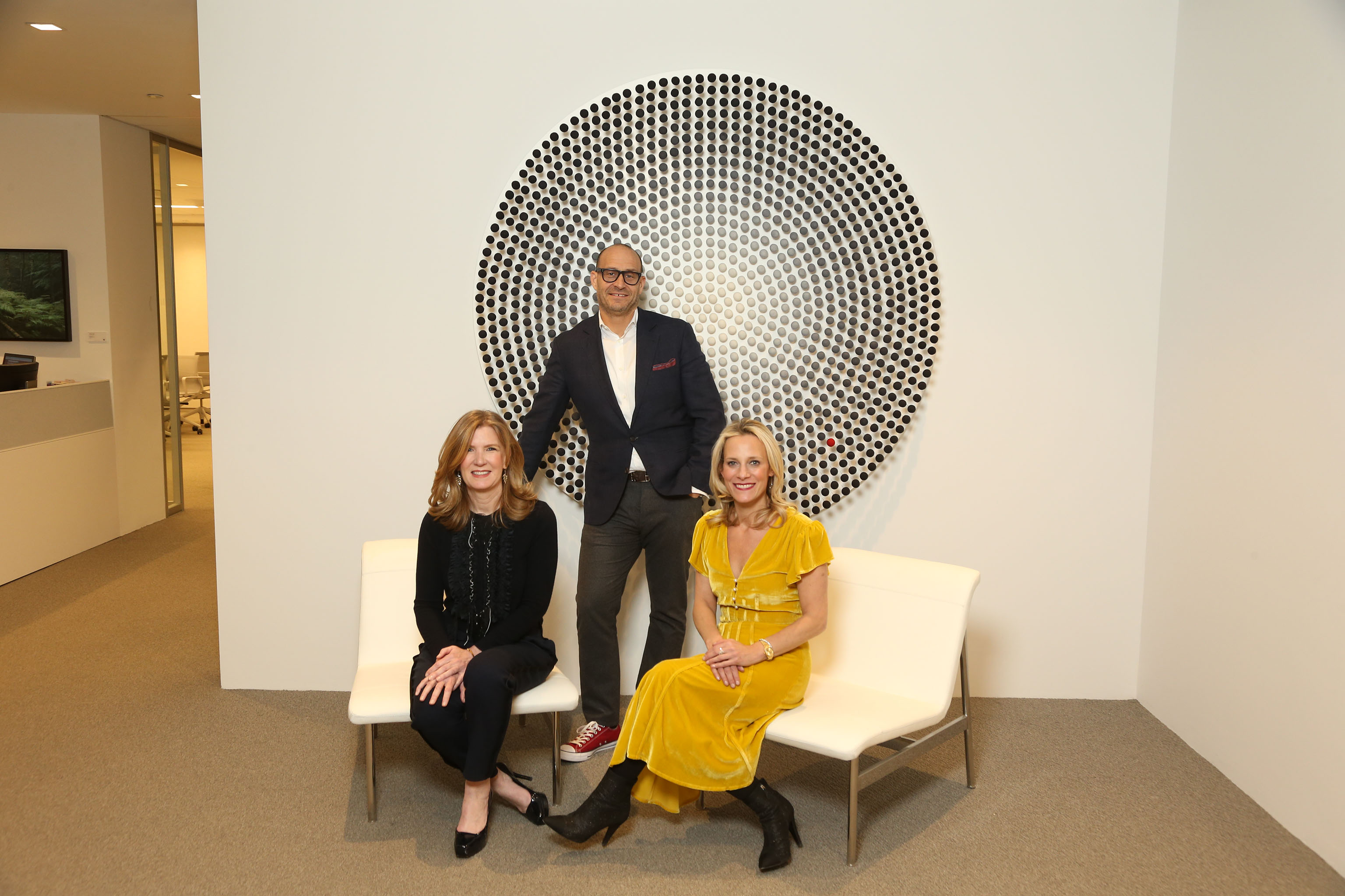 Saks' Marc Metrick, Tracy Margolies and Kate Oldham drove the development of the floor.