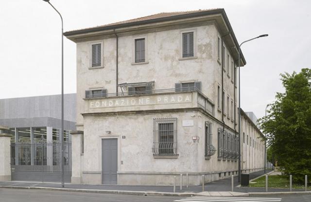 Fondazione Prada in Milan.