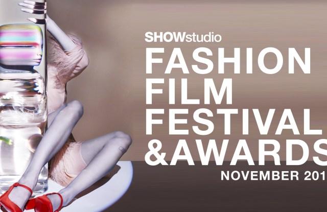 The logo for Showstudio's Fashion Film Festival