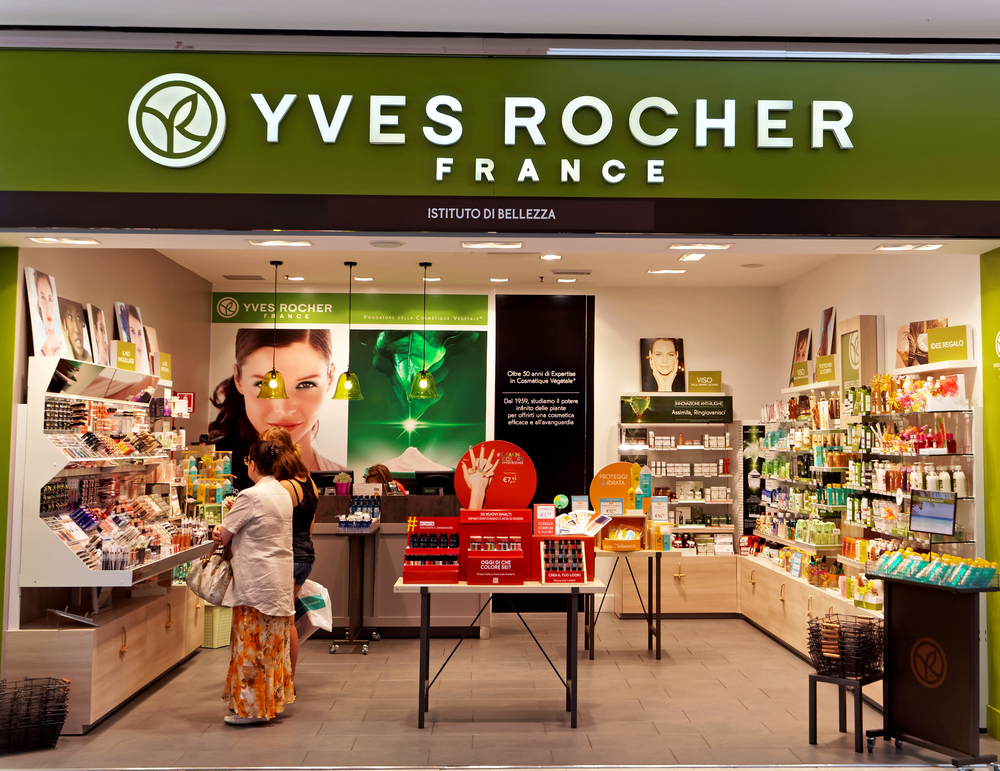 Yves Rocher is one of the nine brands owned by Groupe Rocher.