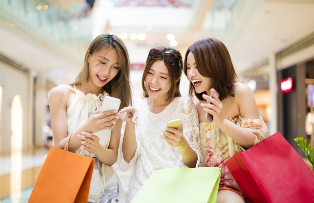 Mobile is a big component of the shopping experience.