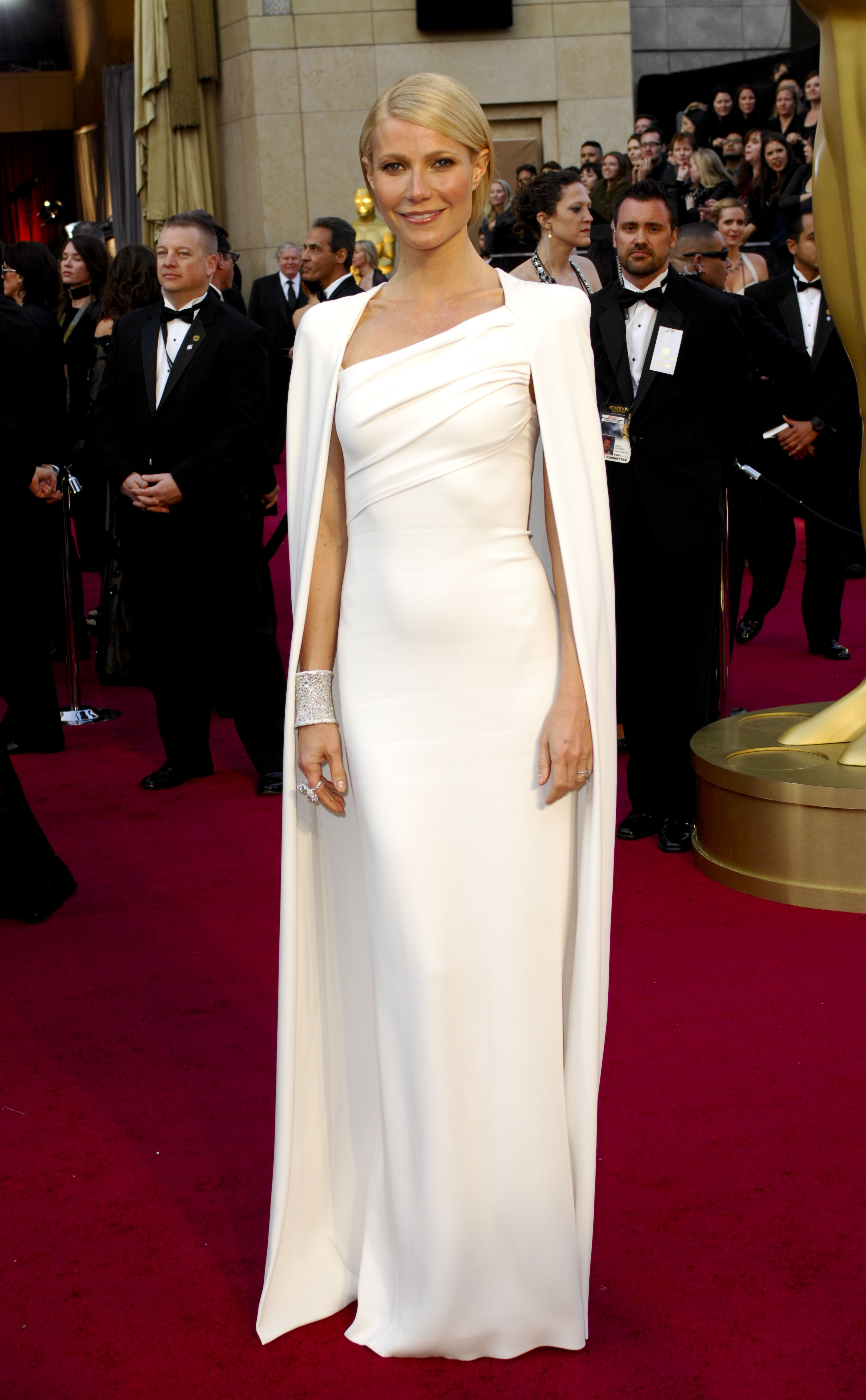 Of dressing for the red-carpet, Ford loves Gwyneth PaltrowÕs approach, nting the white look she wore to the 2012 Oscars, Òbefore everyone was wearing capesÉShe is not afraid.Ó