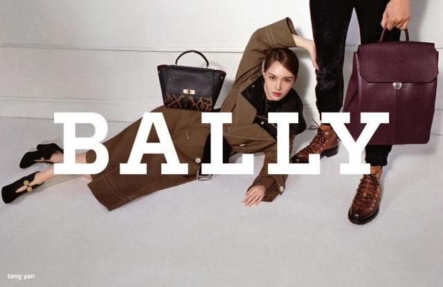 Bally, which now has Chinese owners, tapped actress Tang Yan as its Asia ambassador.