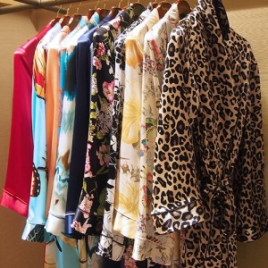 A variety of robe patterns will be offered at the Curve show.
