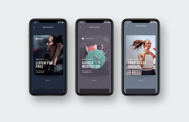 NikePlus Partner Unlocks Apple Music Headspace ClassPass