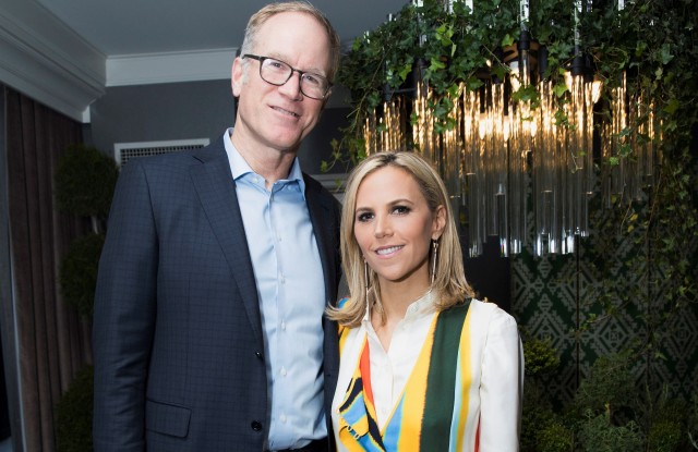 Pete Nordstrom and Tory Burch