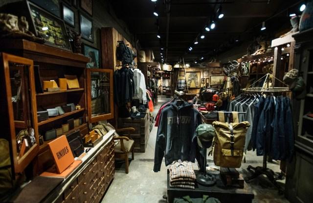 C.C. Filson Co.'s Great Jones NoHo store New York, NY.