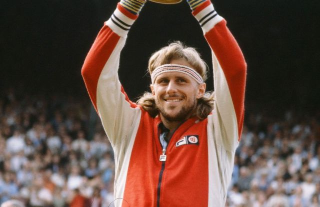 Bjorn Borg in his heyday.