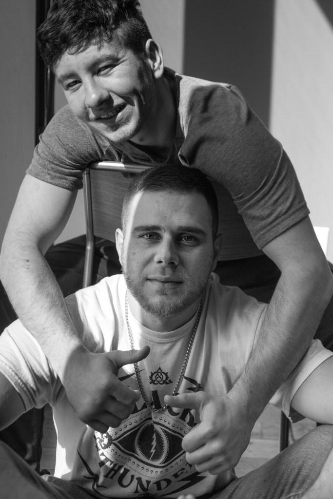 Barry Keoghan and Jared Abrahamson