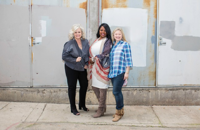 Dana Presley Killmer, Toni Washington and Shannon Baker.
