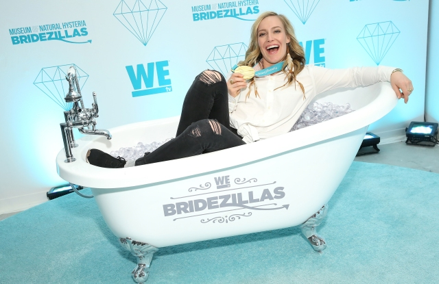 Professional snowboarder and Olympic medalist Jamie Anderson visits WEtv's Bridezillas Museum Of Natural Hysteria.