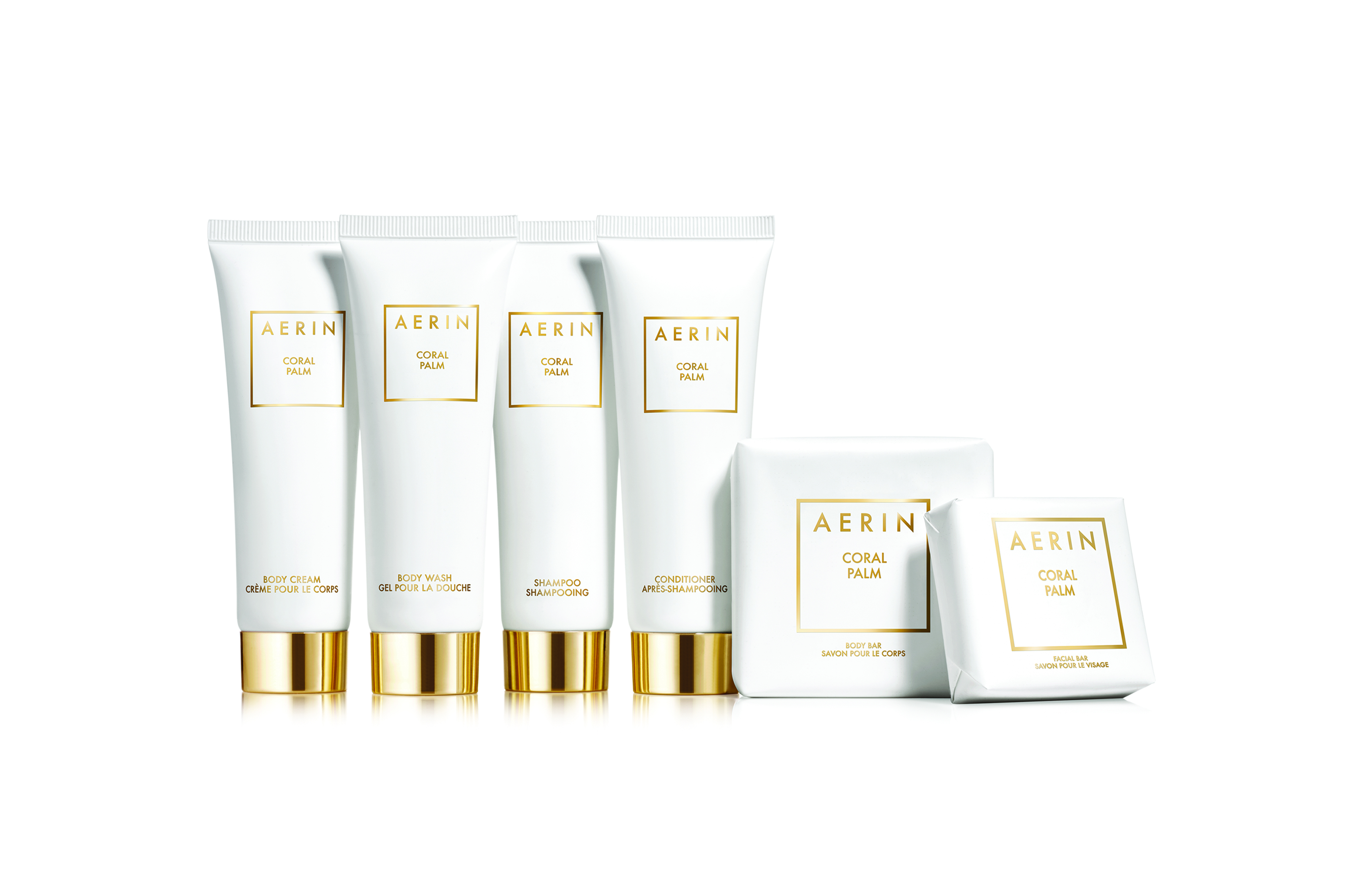 Aerin Coral Palm collection.