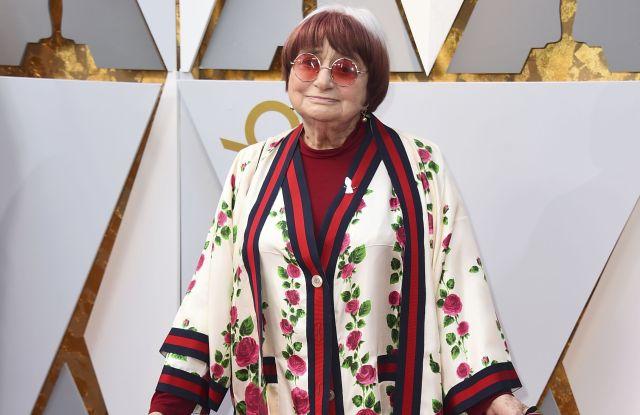 Agnes Varda in Gucci, Oscars 2018