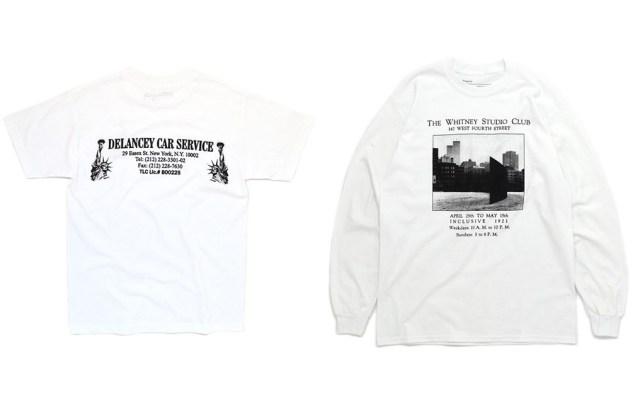 T-shirt designs by the artist Joe Garvey.