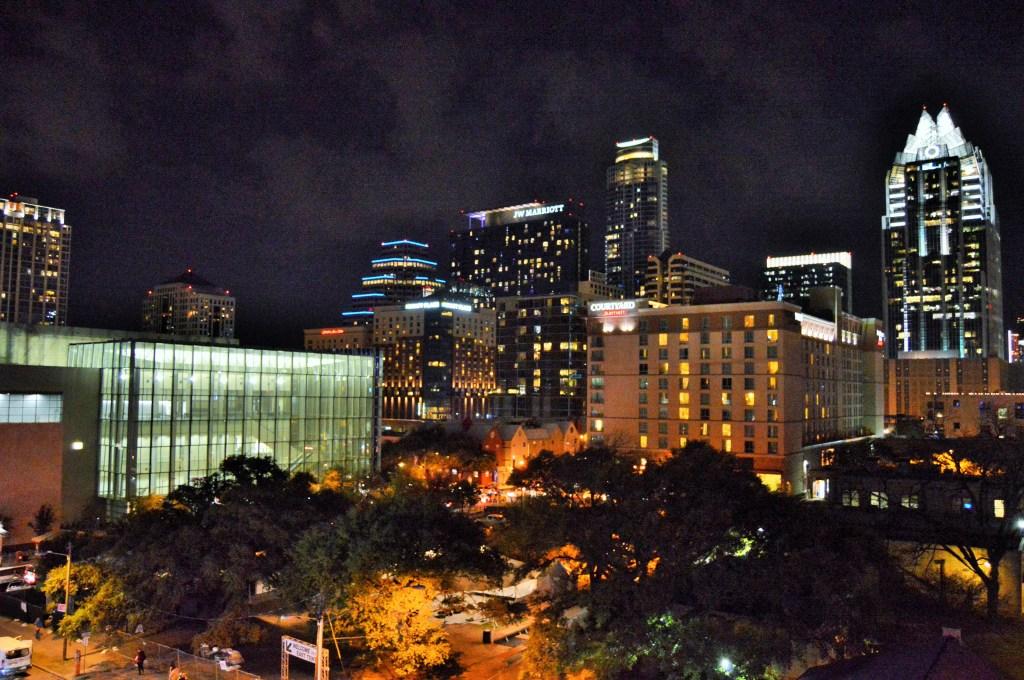 Austin SXSW skyline