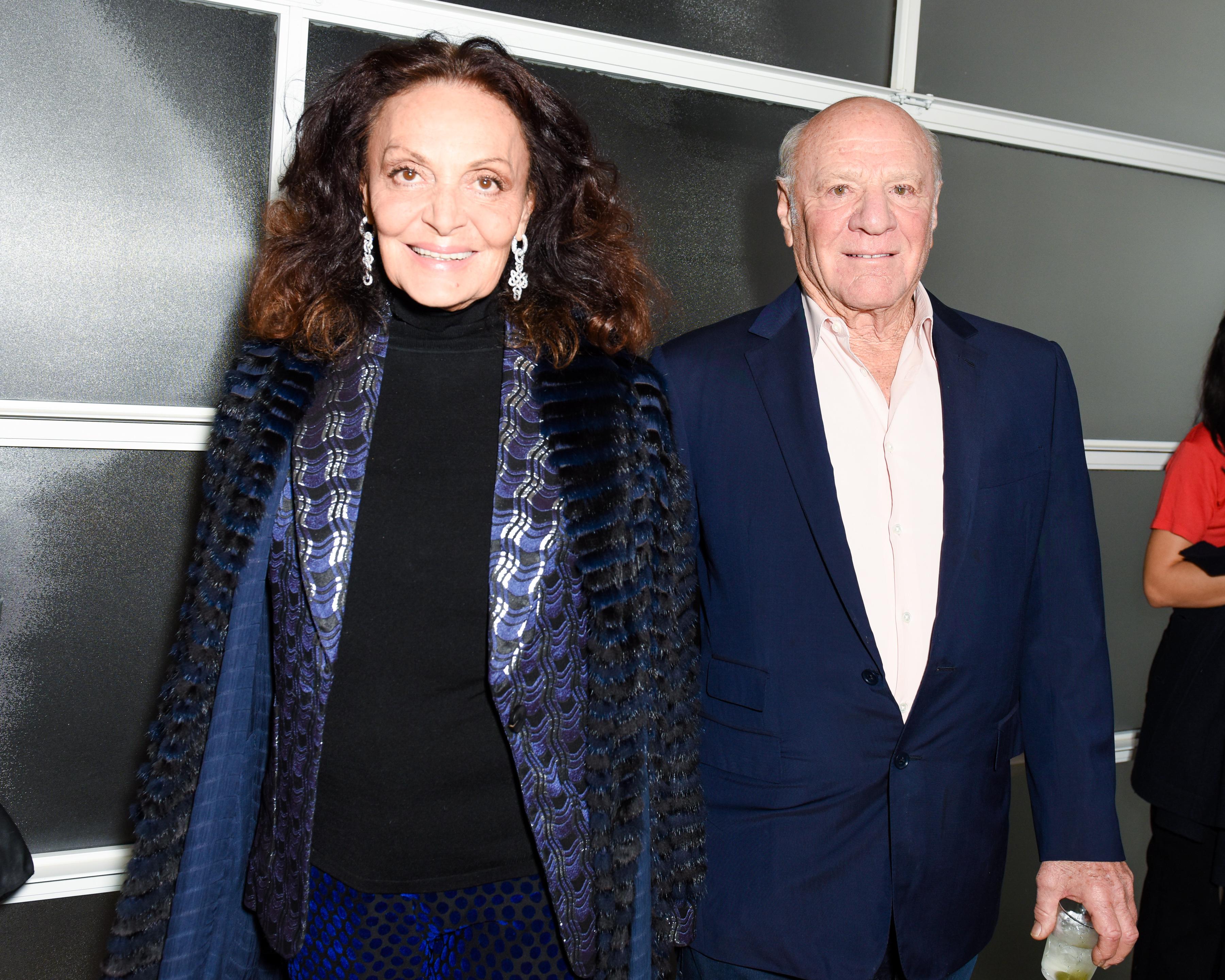 Diane von Fürstenberg, Barry Diller