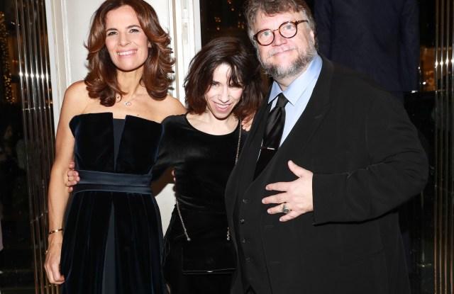 Roberta Armani, Sally Hawkins, Guillermo del Toro