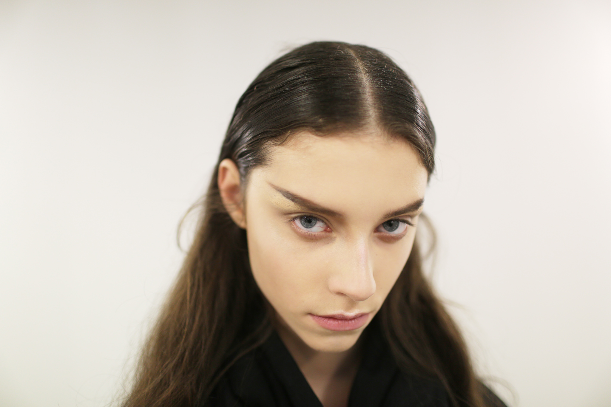 Backstage at Olivier Theyskens RTW Fall 2018