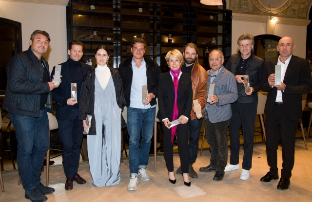 The winners of the French leg of the Land Rover Born Awards.