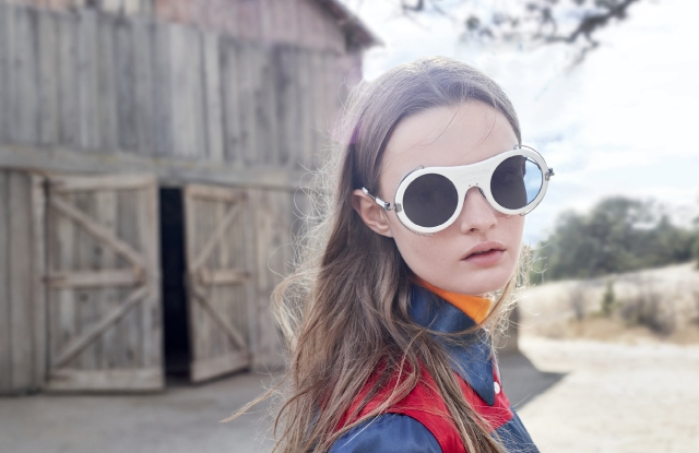 Calvin Klein eyewear - design, produced and distributed in partnership with Marchon.