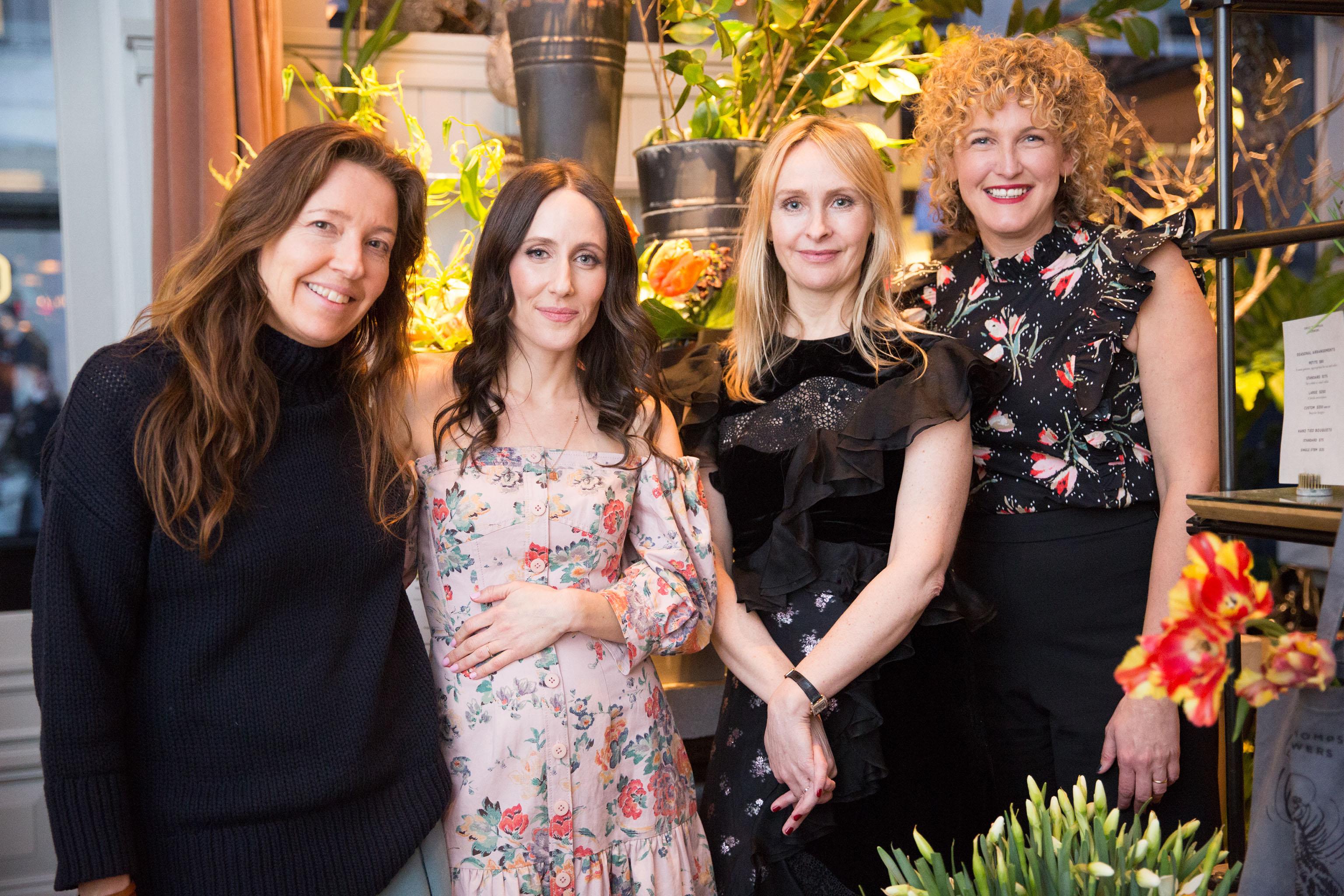 Jean Godfrey June, Violet Gaynor, Rebecca Taylor and Erin Loos Cutrano