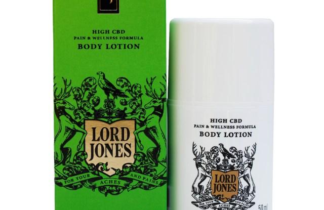Lord Jones CBD lotion.