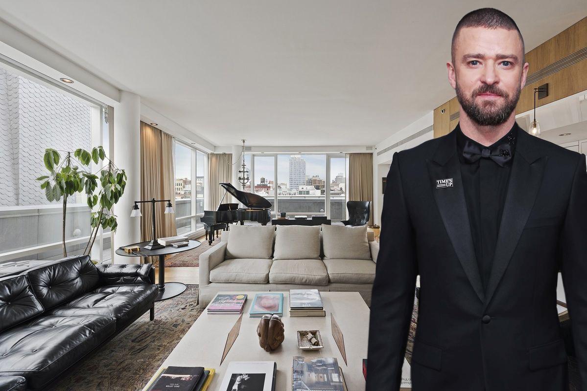 Justin TimberlakeÕs SoHo Penthouse Is For Sale