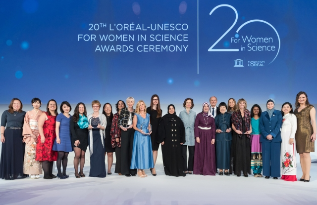 Women scientists honored.