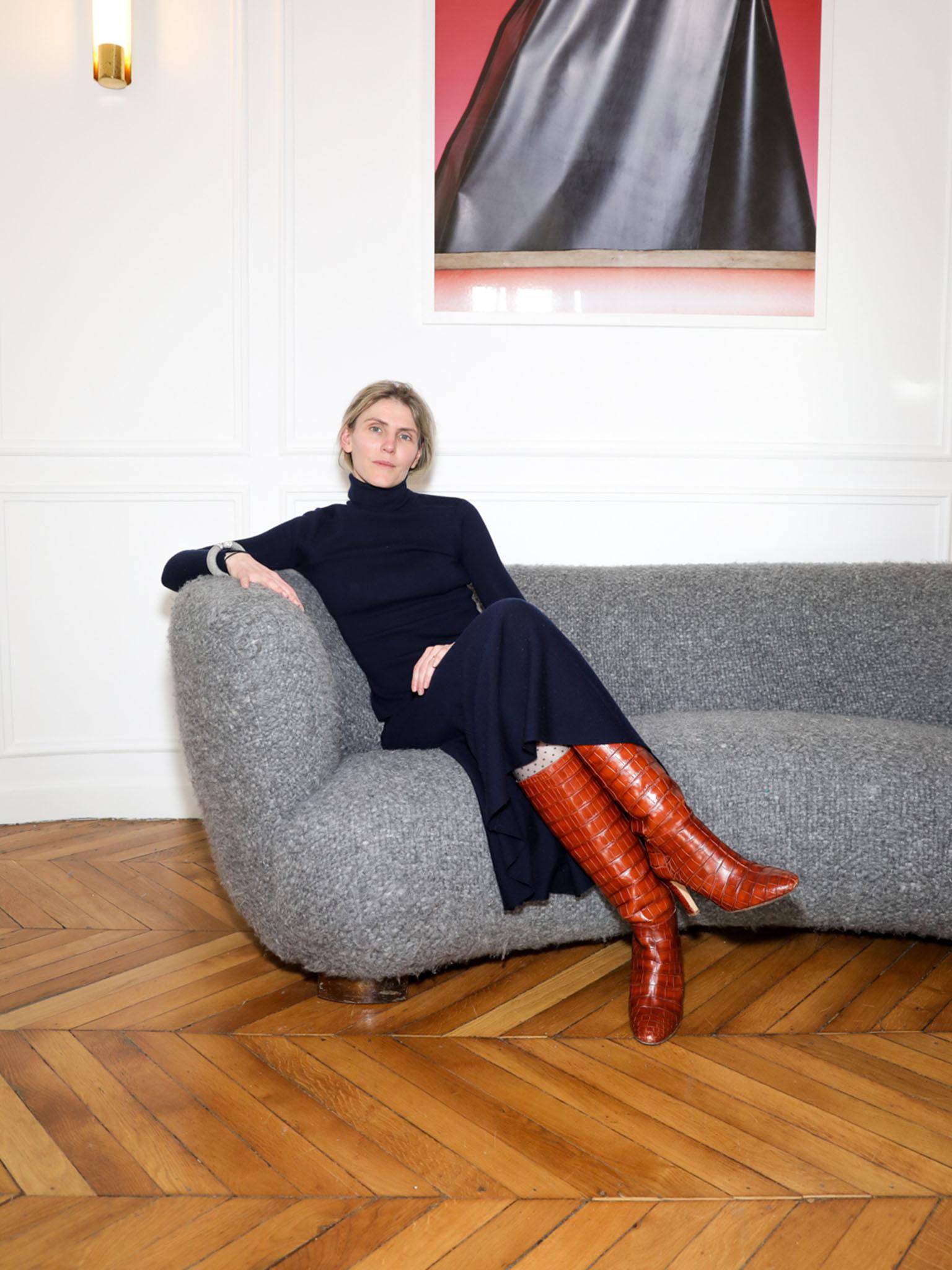 Gabriela Hearst's Paris showroom