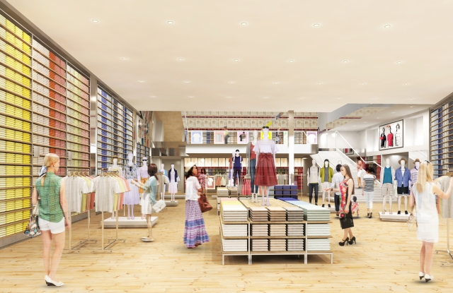 Uniqlo Hawaii rendering