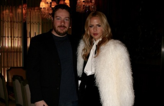 Bryan Goldberg and Rachel Zoe