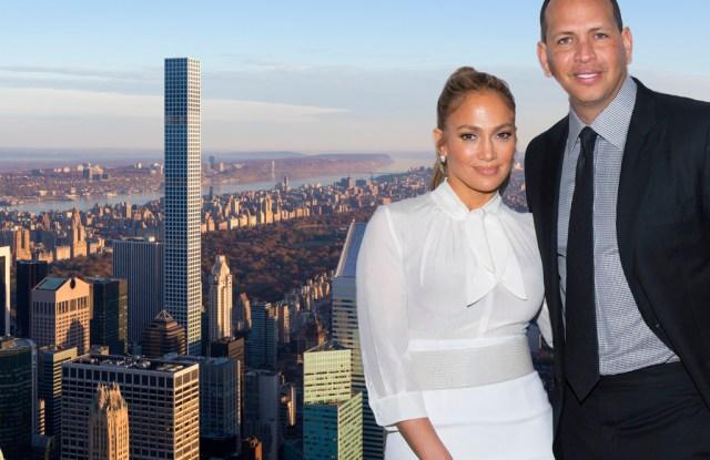 The celebrity couple's new Manhattan condominium.