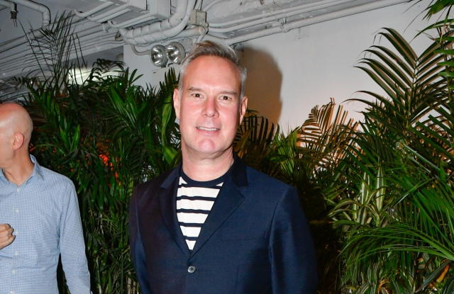 HONG KONG, HONG KONG - MARCH 23:  Andrew Keith attends the British Fashion Council Cocktail Reception to celebrate British Fashion, Design & Creativity at Potato Head on March 23, 2018 in Hong Kong. (Photo by Keith Tsuji/Getty Images for the British Fashion Council)