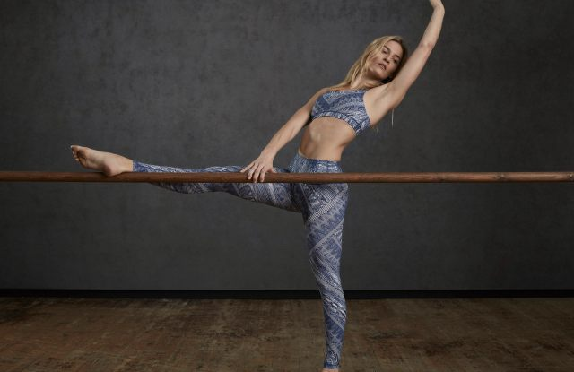 A look from the Lululemon x Central Saint Martins capsule range