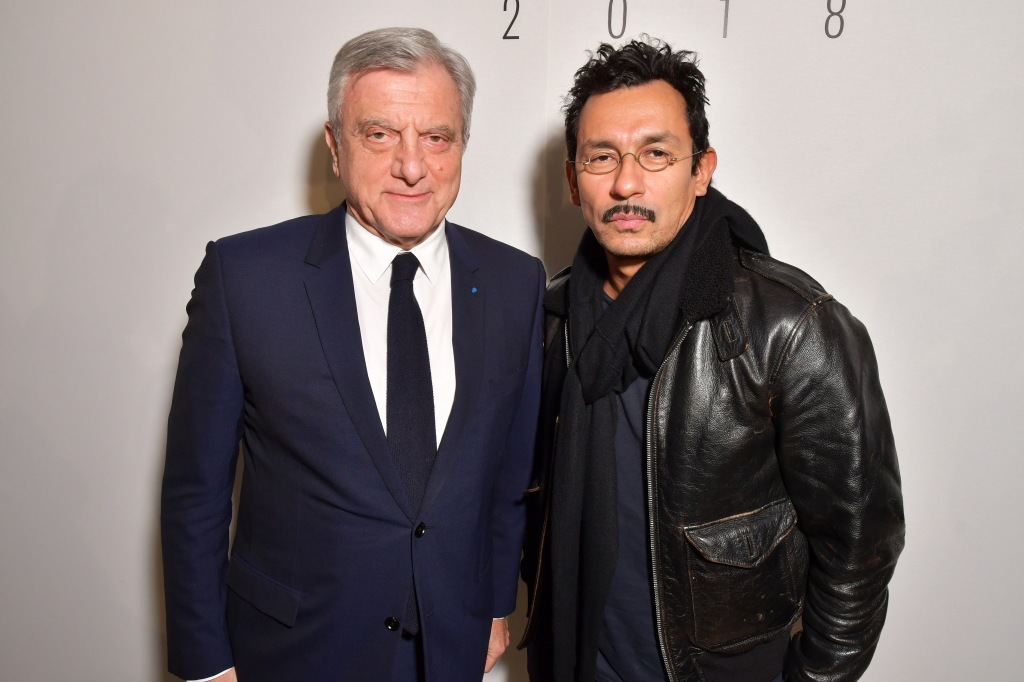 Sidney Toledano and Haider Ackermann