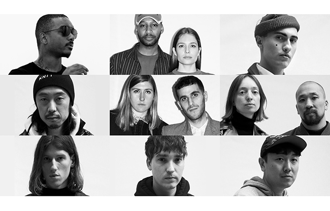 The finalists of the fifth edition of the LVMH prize for Young Designers.