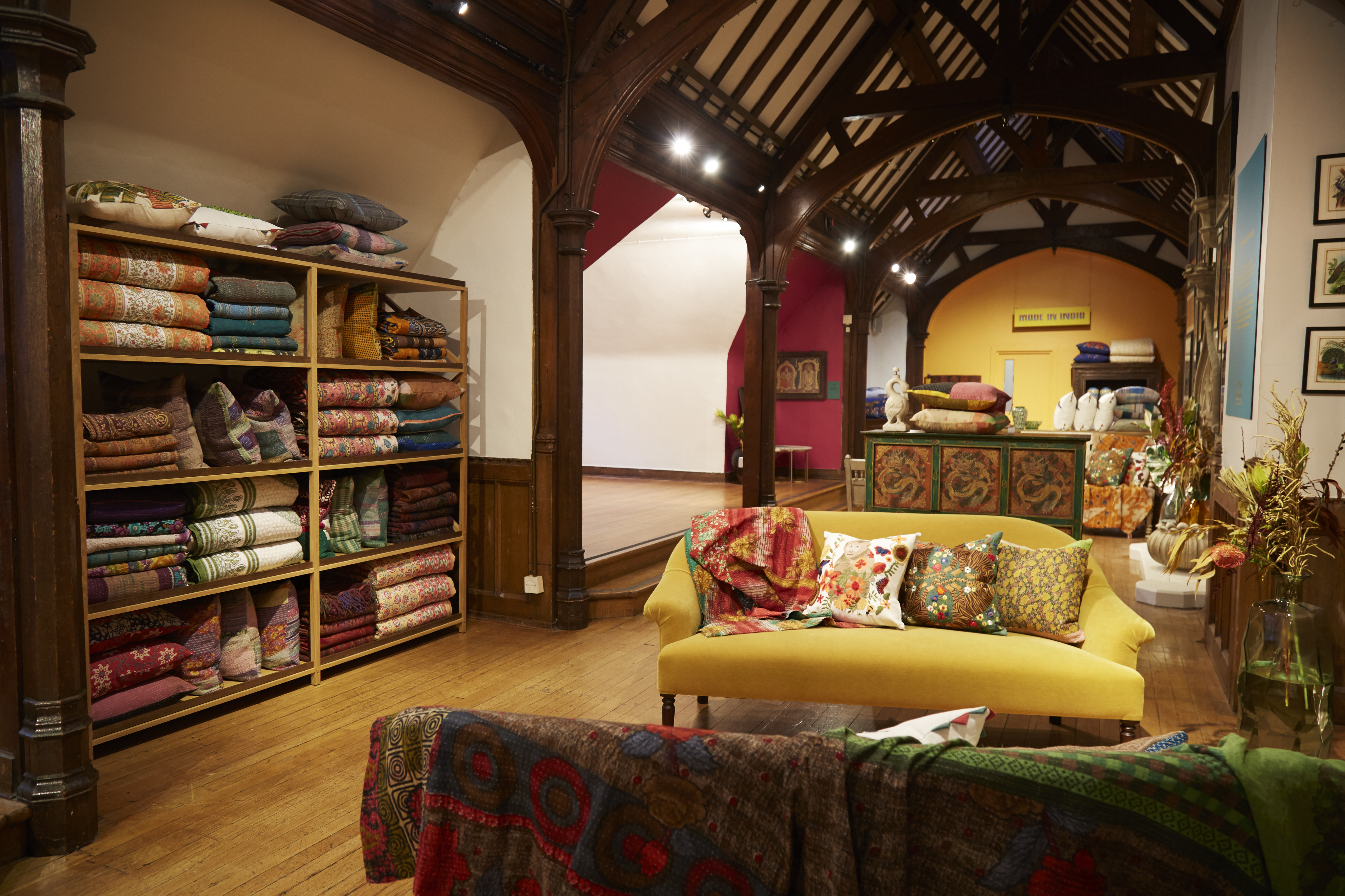 A view of Liberty's furniture floor during the Made in India store takeover.