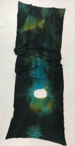 A hand-made scarf by Maniera Nera.