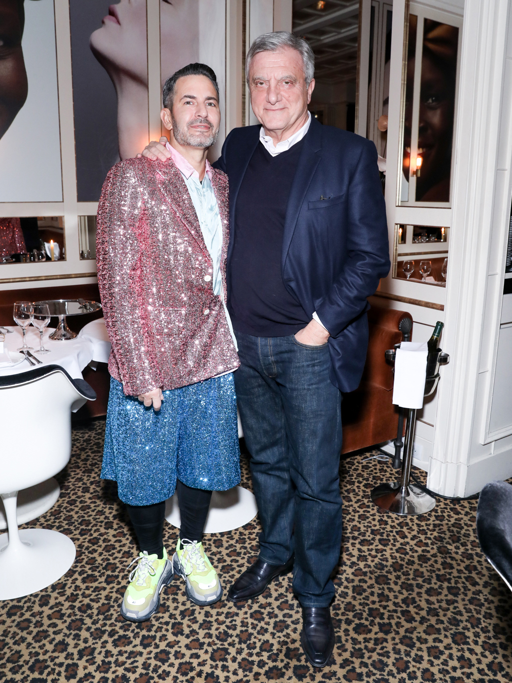 Marc Jacobs and Sidney Toledano