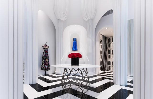 The new Alice + Olivia store in Miami's Design District.