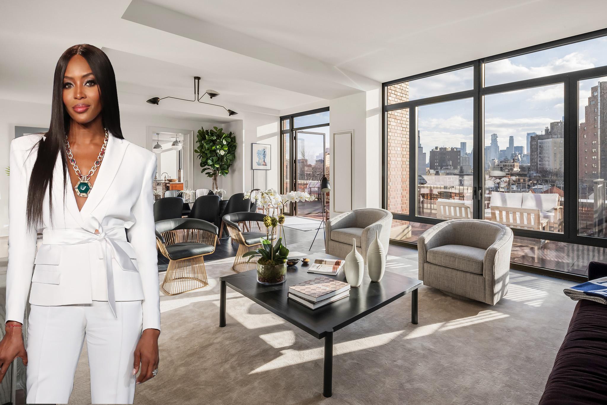Naomi Campbell Checks Out 18 Million West Village Penthouse Wwd