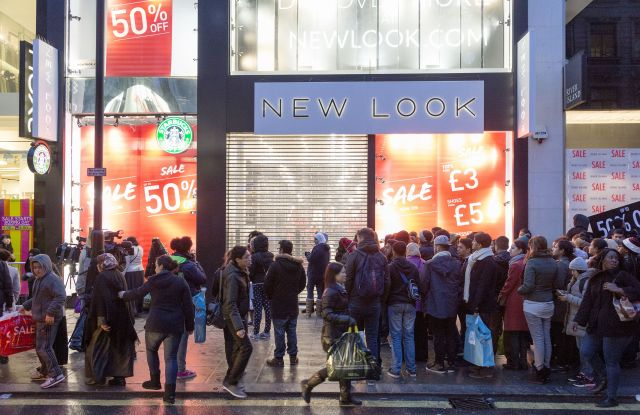 The New Look store in London