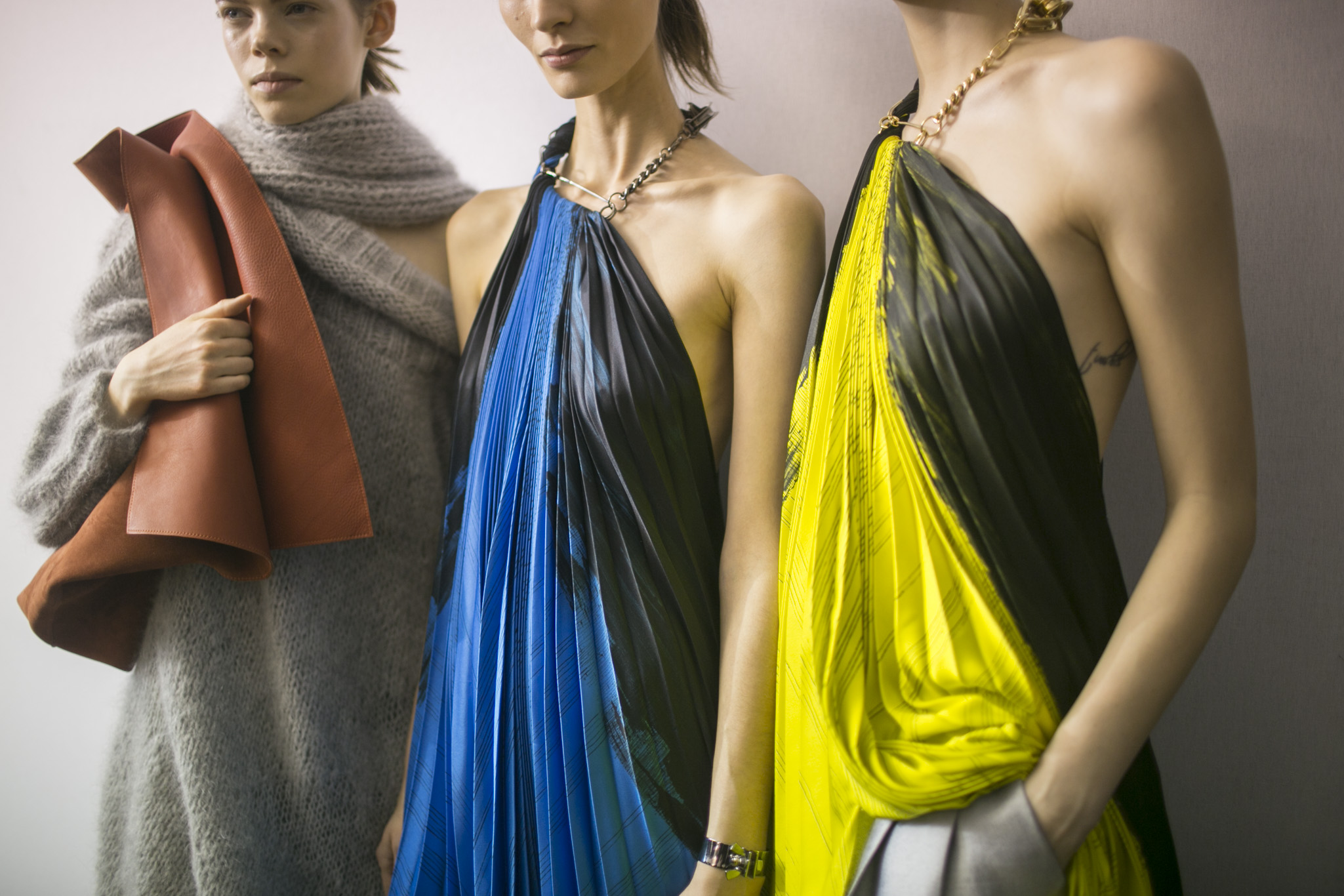Backstage at Poiret RTW Fall 2018