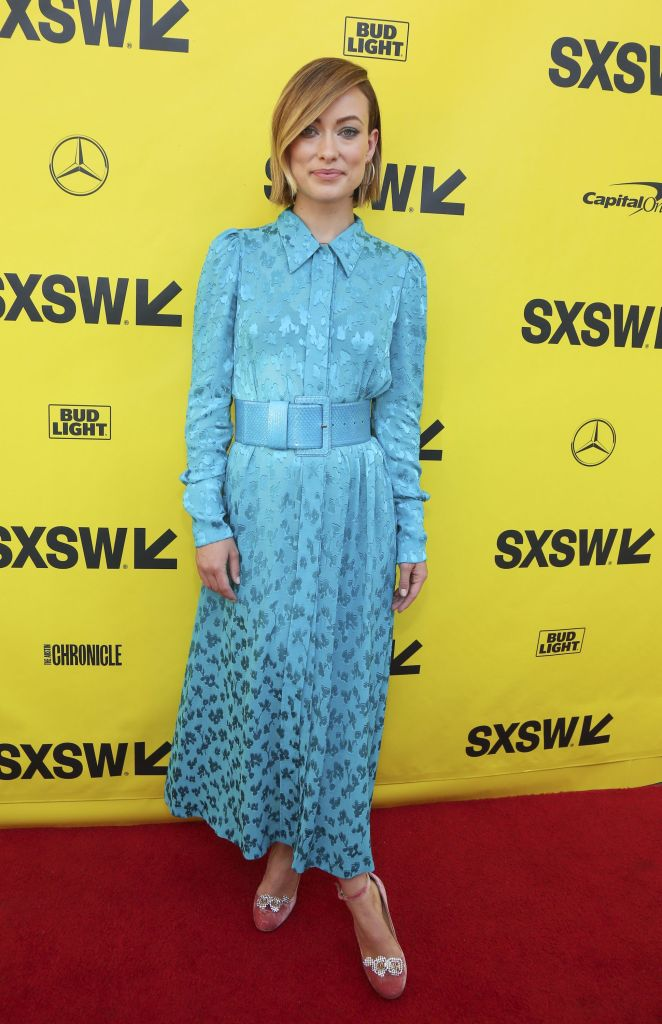 """Olivia Wilde arrives for the world premiere of """"A Vigilante"""" during the South by Southwest Film Festival at the Paramount Theatre, in Austin, Texas2018 SXSW - """"A Vigilante"""", Austin, USA - 10 Mar 2018"""