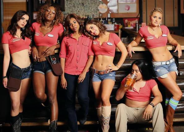 """A still from """"Support the Girls."""""""